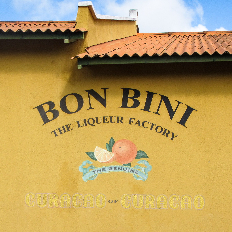 Curacao Likör Fabrik Bon Bini