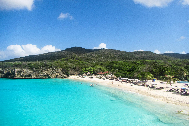 Curacao Strände Grote Knip Bucht Aussicht