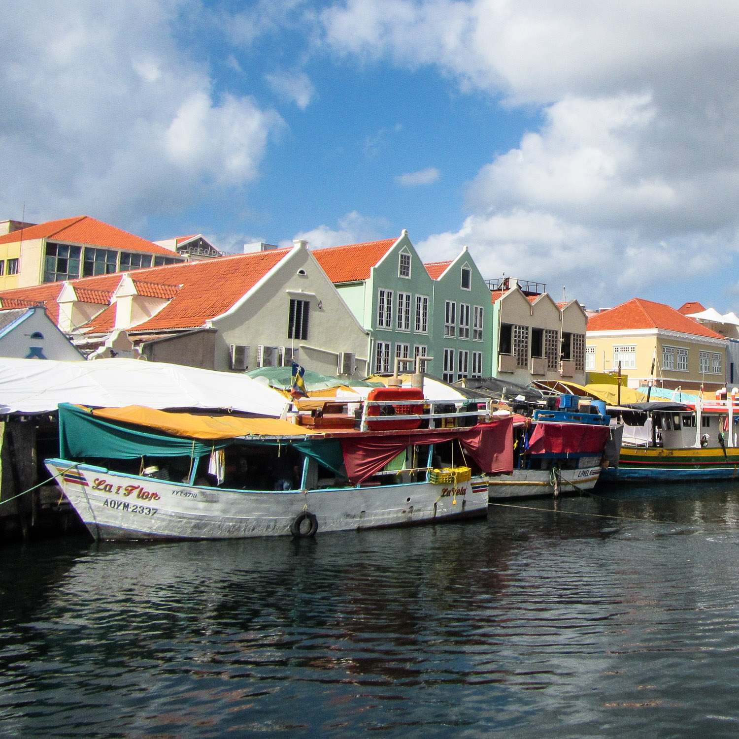 Curacao Floating Market Willemstad