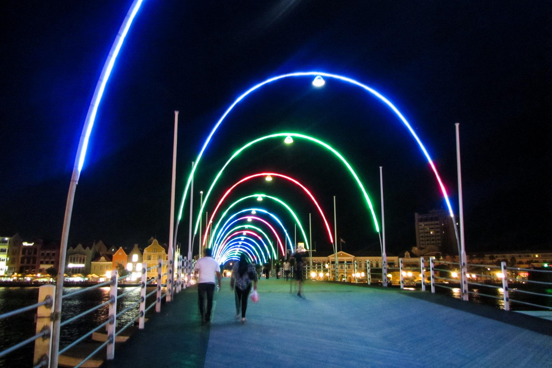 Curacao Willemstad Brücke