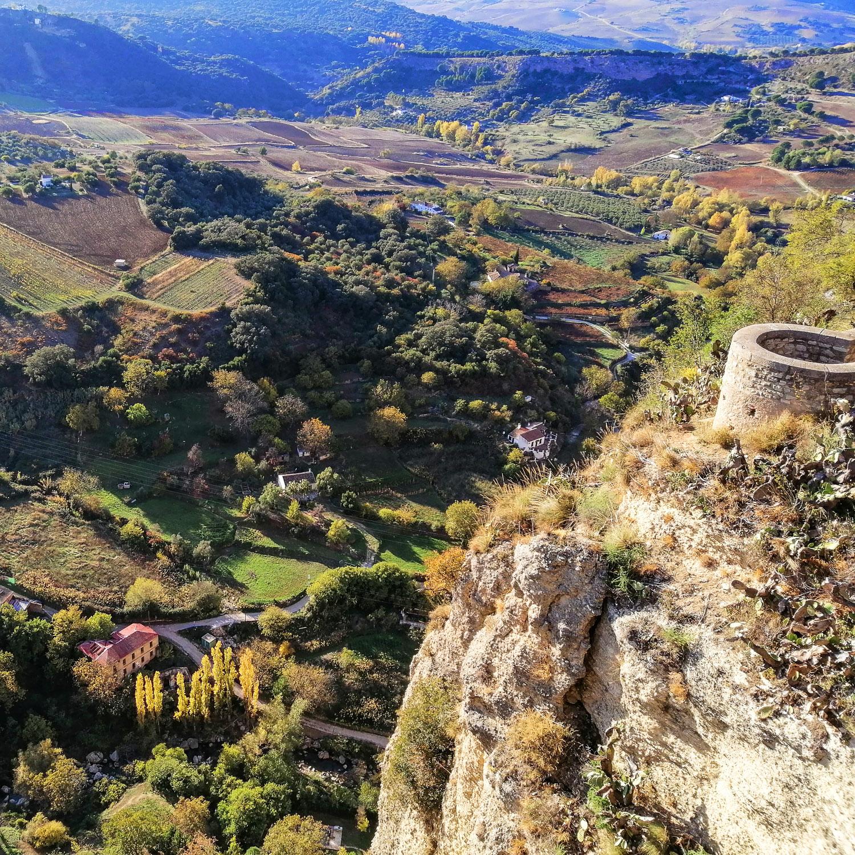 Sevilla Andalusien Ronda Landschaft
