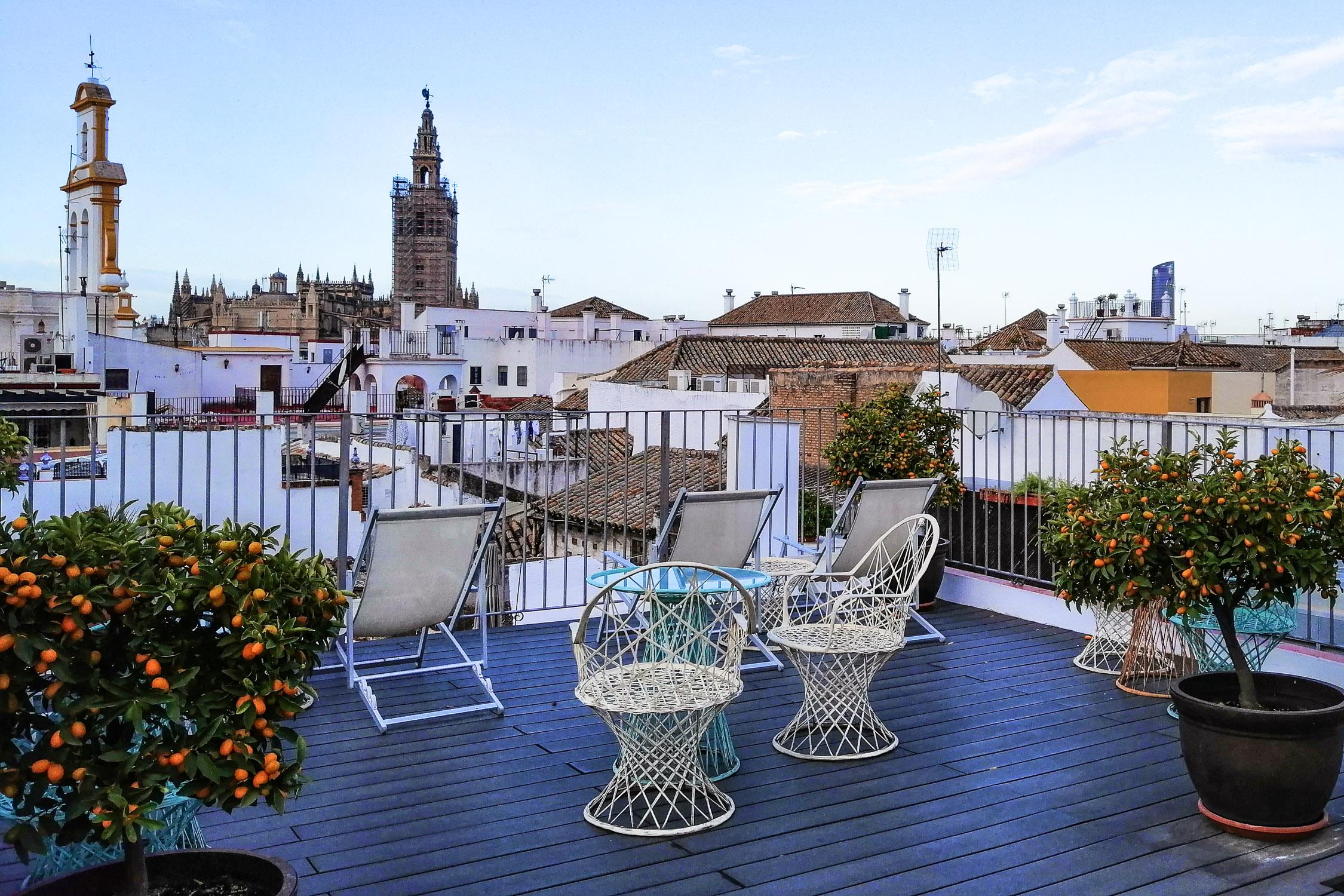 Sevilla Dachterrasse Amadeus Rooftop Hotel