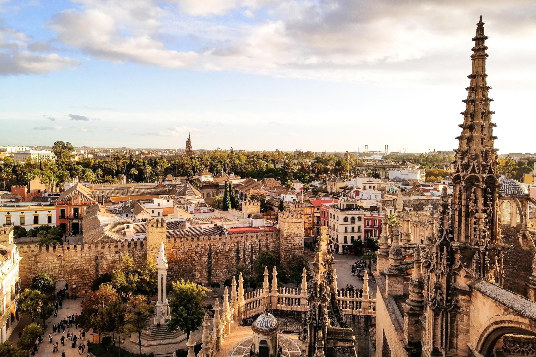 Sevilla Kathedrale Aussicht View