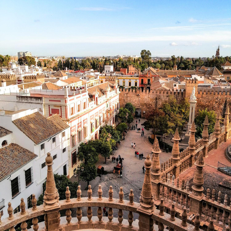 Sevilla Kathedrale Platz