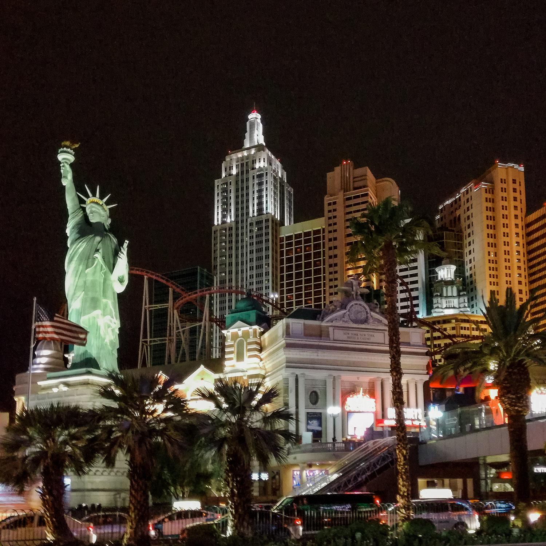 Casino New York New York Las Vegas bei Nacht