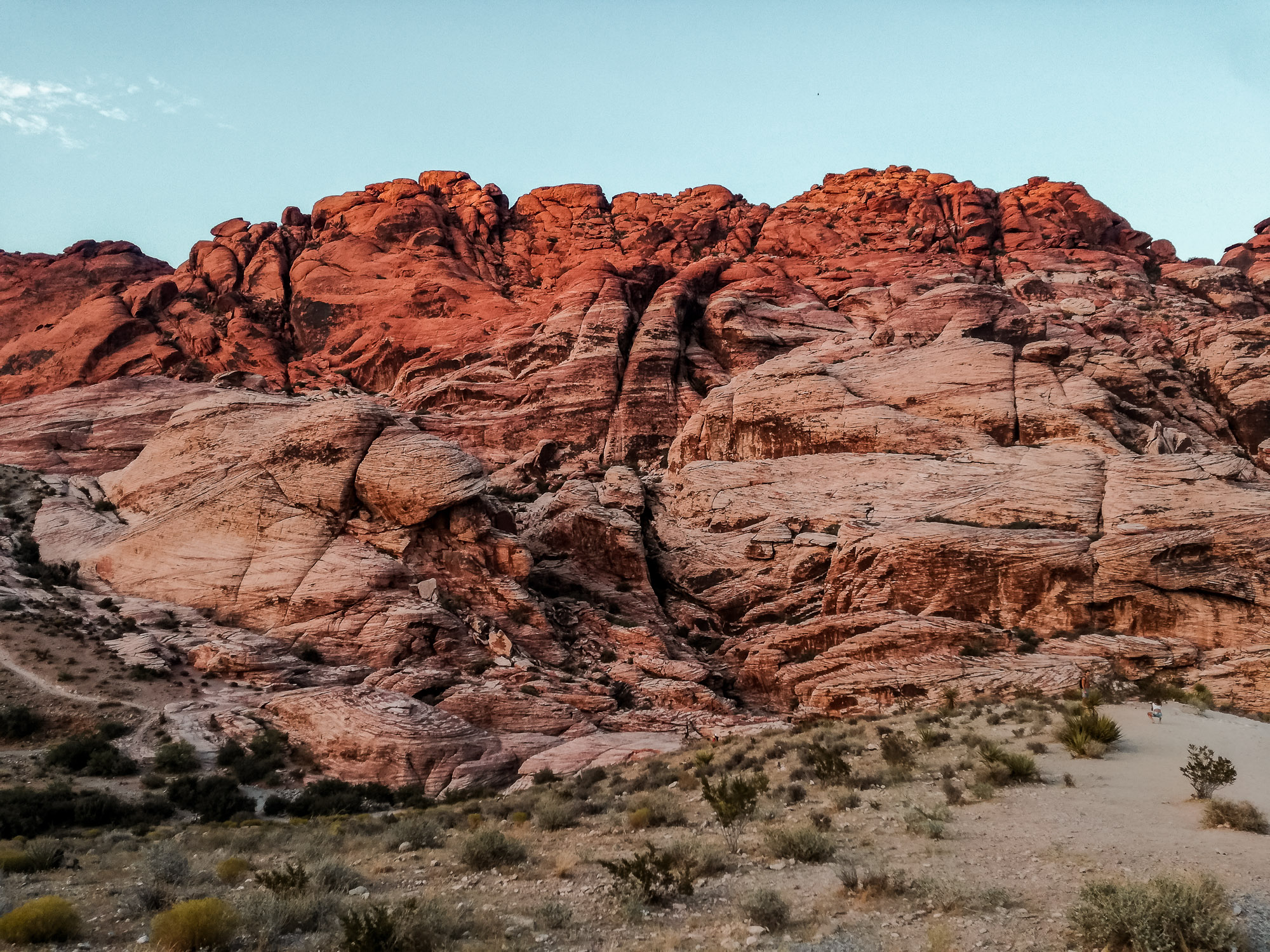 Aussicht auf Red Rock Canyon