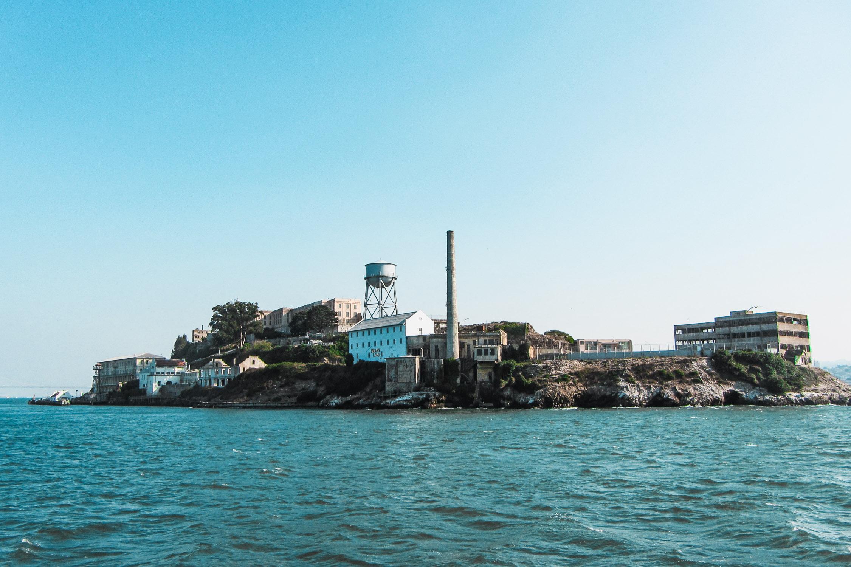 Blick auf Alcatraz Insel