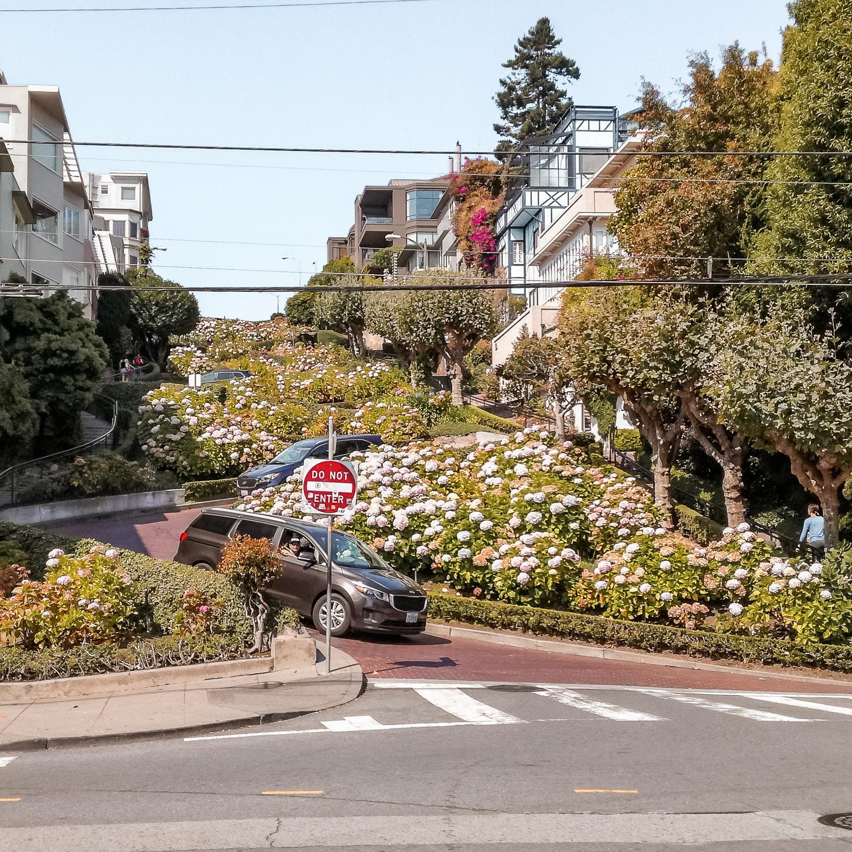 Lombard Street Kalifornien San Francisco
